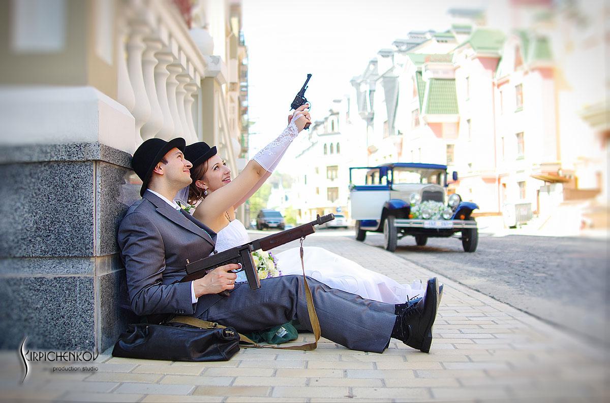 Фотосессия в стиле гангстера спб